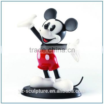 life size fiberglass happy mickey mouse statue for sale