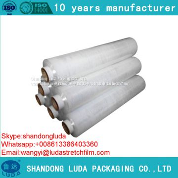various transparent handmade LLDPE packaging Stretch wrap film roll production process