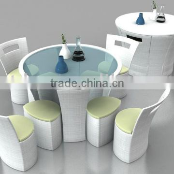 patio rattan table and chairs