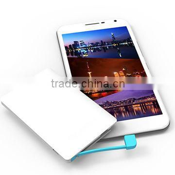 Slim Portable 2500mAh Power Bank Credit Card Size