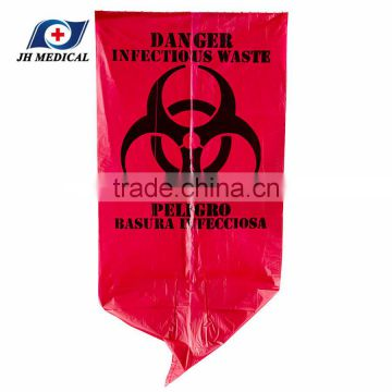 7 gallon red Infection Control waste bag