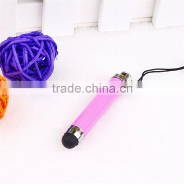 TTO-0601 Mini stylus touch pen for Iphone , cheap smart phone touch pen with puggy