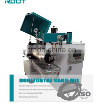Water paint horizontal sand mill