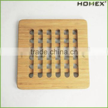 Bamboo Trivet Protects Counters Tabletops From Pots/Homex_BSCI