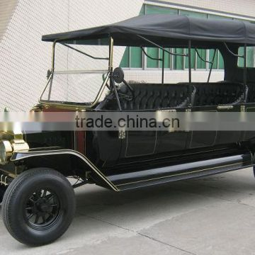 New 8 passengers classic electric golf cart retro car