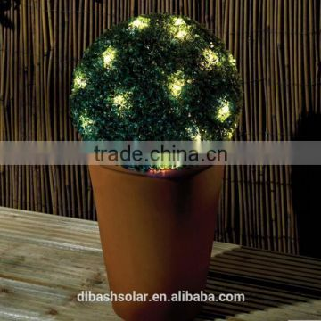 outdoor wireless solar LED artificial tree outdoor lights