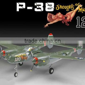 RC Airplane 400Class P-38 1200