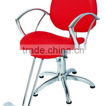 red color barber chairs for women beauty styling chairs