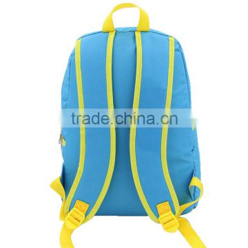 2016 new arrival customized durable blue teenage boys school bag                                                                                                         Supplier's Choice