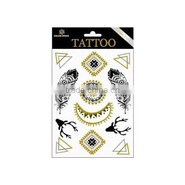 2015 New Design Water Transfer Body Temporary Tattoo Sticker