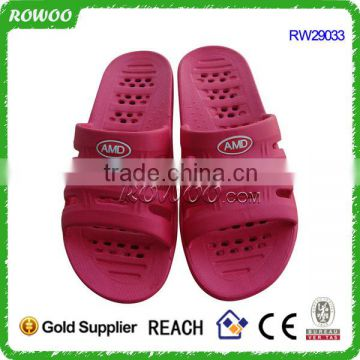 indoor Slipper 2016 woman, cheap pvc plastic slipper slide