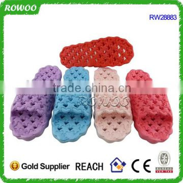 Durable women Breathable PVC summer indoor flip flops slippers