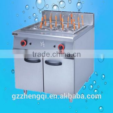 Commercial Gas Pasta Cooker, Industrial Pasta Cooker With Cabinet(ZQ-829)