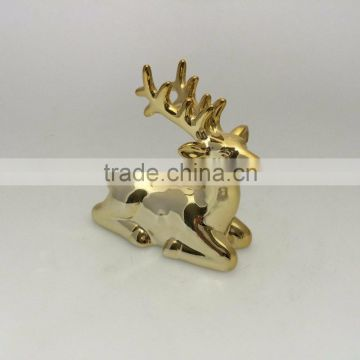 Cheap price Ceramic Deer Decoration for promotional gift