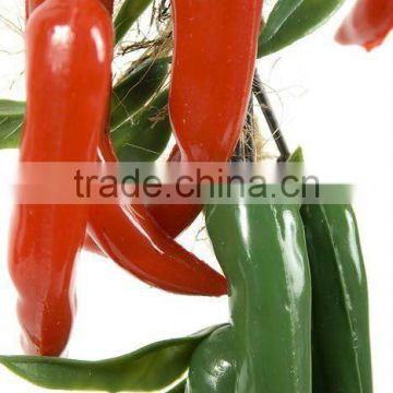 2011 NEW ARRIVAL Vivid pepper bunch decorating fruits and vegetables