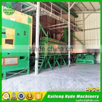 Hyde Machinery 5ZT pearl millet seed cleaning grading coating packing machines