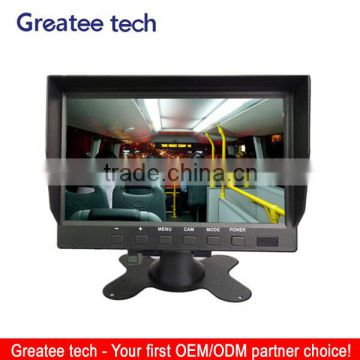 7 inch Stand-alone car monitor / Car display use for bus