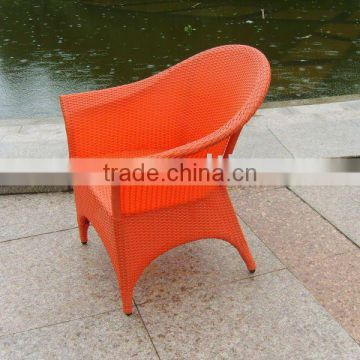 rattan leisure chair or wicker chair or outdoor armchair