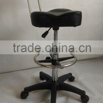 2015 Hot Sale Cheap Hair Salon Styling Stool With Strong 5 star wheels