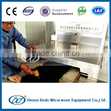 high efficiency continuous automatic black soya bean microwave dryer and roaster