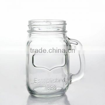 Water Bottles Drinkware Type and FDA,CE / EU,SGS Certification glass storage jars