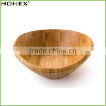 Cheap Bamboo Salad Bowl for Mixing/Bamboo Salad Tools/Homex_Factory