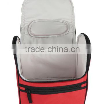 multifuctional shape insulated one-shouder pp woven cooler bag