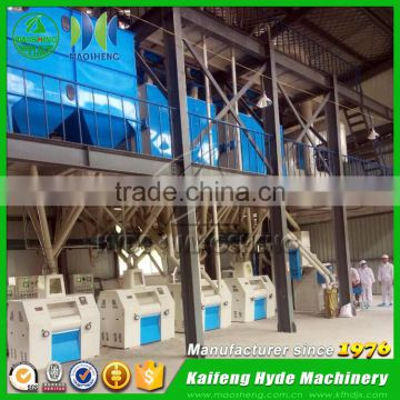 MSQ automatic 100 ton per day flour mill