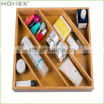 Practical Bamboo Drawer Organizer/Homex_BSCI