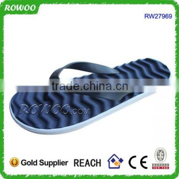 pvc and eva beach sandal, eva beach plastic sandals, men beach walk sandals
