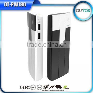 shenzhen factory cheapest price piano mobile power bank 10000mah