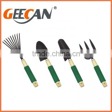 High quality Garden tool,Garden tool set,5pcs set Garden tool with wooden handle and soft touch