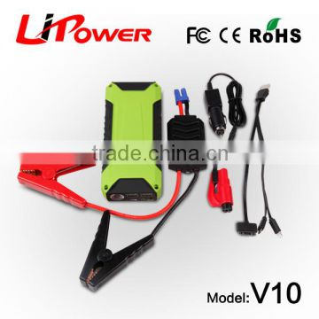 real capacity external portable LIPOWER jump start 12v car Vehicle rechargeable batteries