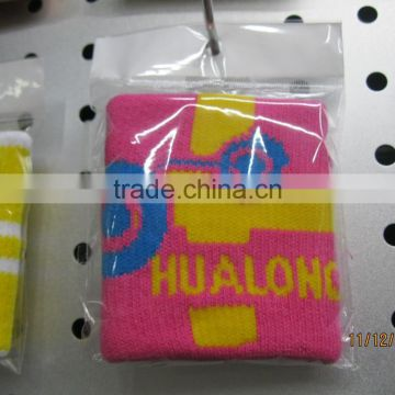 customized cheap business gift sweat bands