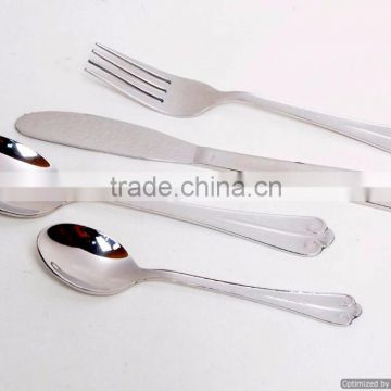 new modern design metal material cutlery sets