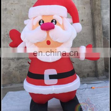 Best Christmas Products Inflatable Christmas Santa Claus Decoration Light Christmas On Sale