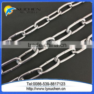 Standard mild steel link chain iron link chain with factory low price