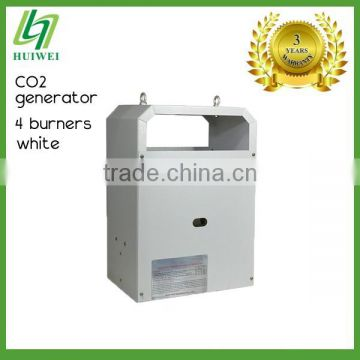 Greenhouse CO2 Generator White 4 Burners Liquefied Petroleum Gas