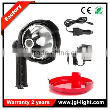 Factory outlet Rechargeable 25W LED Handheld Spotlight 12V Hunting Camping Searchlight