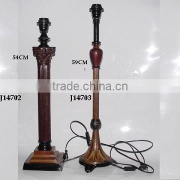 lamp, metal lamps, brass lamps base with patina finish