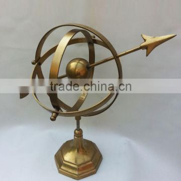 brass antique indian handicrafted wholesale globe