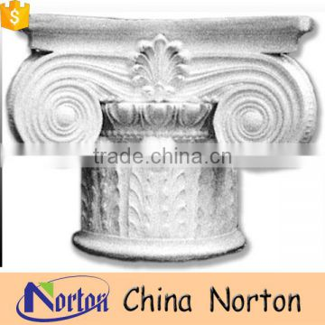 landscape decoration carved craft marble roman column capitals NTMF-CP011Y