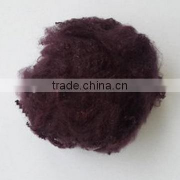 100%Polyester Staple Fiber 3D*88mm Colored Polyester Fiber Fill