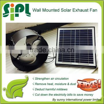 Vent tool New Type Wall Mounted Solar Air Ventilation Exhaust Fan Running 24 hours