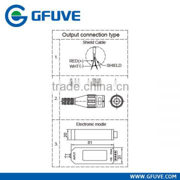Electrical AC Flexible Rogowski Coil Current Sensor