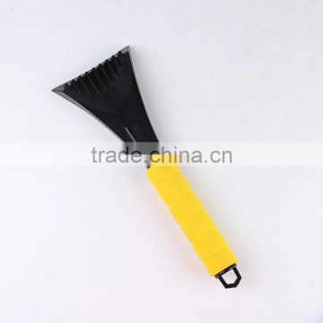 Ultra Durable and Scratch-free Chisel Blade with Foam Grip Ice Scraper