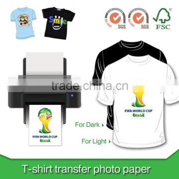 190g T-shirt transfer paper for dark color