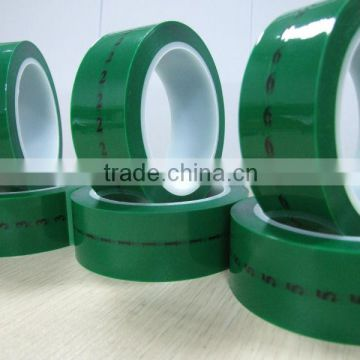 Cinta adhesiva High temperature silicone adhesive PET tape