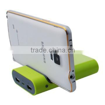 2015 new multifunction power bank mobile stand power bank external power charger 6600mAh