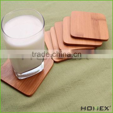 Wooden Square Coasters for Tea Coffee Beer Homex-BSCI